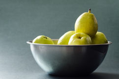 Ny päronfrukt Arkivfoto