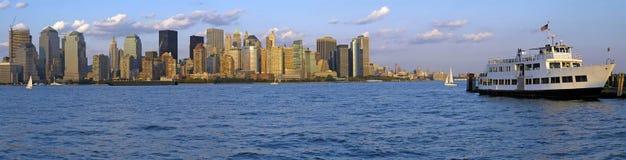 NY Panorama Royalty Free Stock Photos