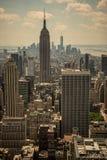 ny panorama york Arkivfoton