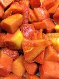 ny papaya Royaltyfria Foton