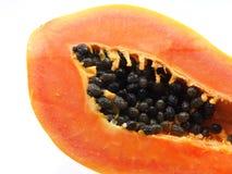 Ny papaya för närbild Royaltyfria Bilder