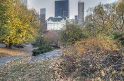 ny park york för central stad Arkivbild