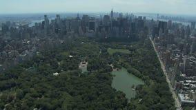 ny park york för central stad lager videofilmer