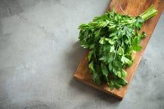ny parsley arkivfoton