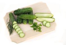 ny parsley för gurkor Arkivfoton