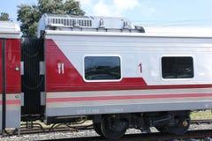 Ny passagerarebil av drevet inga 10 och 11 Royaltyfri Bild