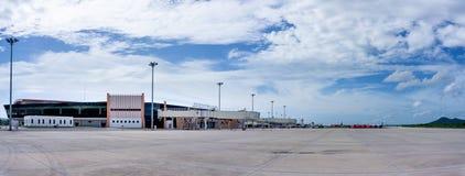 Ny passagerarterminal av U-Tapao Rayong-Pattaya den internationella flygplatsen royaltyfria foton