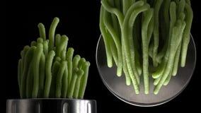 Ny pasta och pastamaskin på mörk bakgrund royaltyfri fotografi