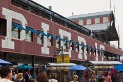 ny pir york för 17 stad Arkivbilder