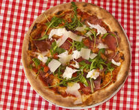 ny pizza Arkivbild