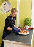 ny pizza Royaltyfria Bilder