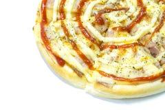 Pizzabacon Arkivfoton