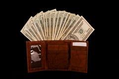 ny plånbok Arkivfoto