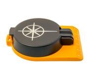 Ny plast- kompass som isoleras på vit bakgrund Royaltyfria Bilder