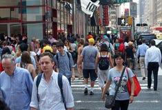 ny platsgata york för stad Fotografering för Bildbyråer