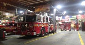 NY pożarniczy dział Obrazy Stock