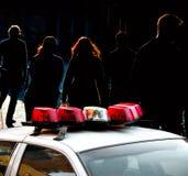 NY police car Stock Photos
