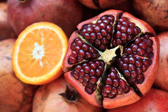 ny pomegranate Arkivbild