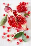 Ny pomegranate. Arkivfoto