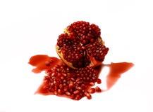 ny pomegranate Arkivfoton