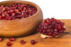 ny pomegranate Fotografering för Bildbyråer