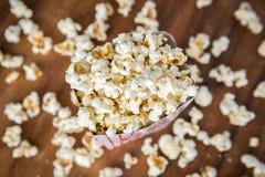 ny popcorn Arkivfoton