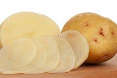 Ny potatis arkivbild