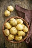 Ny potatis arkivbilder