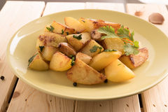 Ny potatissmåfisk Fotografering för Bildbyråer