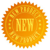 ny produktskyddsremsa stock illustrationer