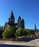 Ny protestanttempel Metz Frankrike arkivfoto