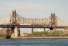 ny queensboro york för bro Royaltyfri Foto