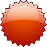 ny röd färgstänk för bang Royaltyfri Fotografi