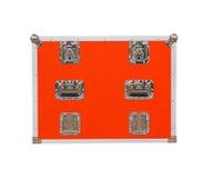 Ny röd toolbox Arkivfoto