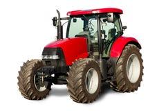 ny röd traktor
