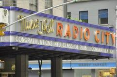 ny radio york för stadshusmusik Arkivbild