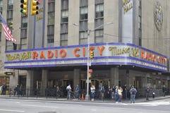 ny radio york för stadshusmusik Arkivbilder