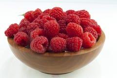 Ny raspberries_8 Fotografering för Bildbyråer