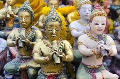 ny rayongskulptur thailand för skådespelare Arkivbild