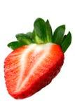 Ny röd jordgubbe Royaltyfri Bild