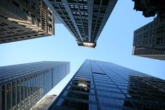 NY- Reflexionen in Manhattan Lizenzfreie Stockbilder