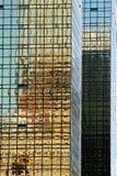 ny reflexioner för byggnader Royaltyfria Foton