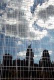 ny reflexionshorisont york Royaltyfri Fotografi