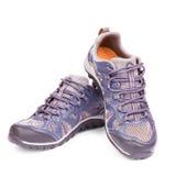 Ny running sko fotografering för bildbyråer