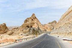 Ny rutt 49, Dhofar (Oman) Arkivfoto