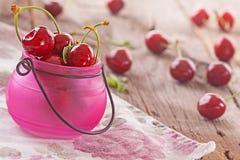 ny sötsak för Cherry Arkivbilder