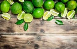 ny saftig limefrukt royaltyfri fotografi