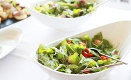 ny salat royaltyfri fotografi