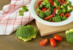 ny sallad för broccoli Royaltyfri Foto