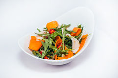 Ny sallad med morötter Arkivfoto